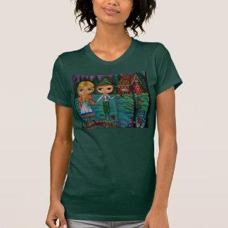 Camiseta de las muñecas de Hansel y de Gretel Blyt