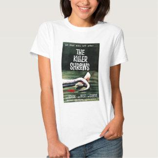 """Camiseta """"de las musarañas del asesino"""" poleras"""
