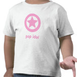 Camiseta de las niñas del ídolo de estallido