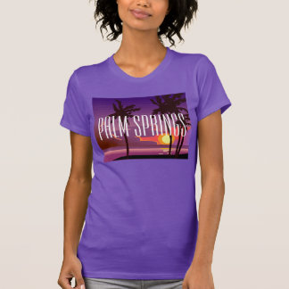 Camiseta de las palmeras de California del Palm Remera
