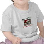 Camiseta de las patas de Santa