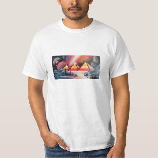 Camiseta de las pirámides a tiempo
