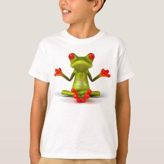 Camiseta de las ranas verdes camisas