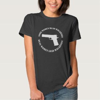 Camiseta de las revistas de la carga de las poleras