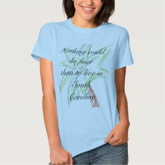 Camiseta de las señoras de Carolina del Sur Playera