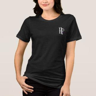 Camiseta de las señoras de HP, negra