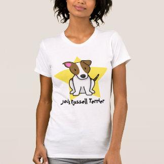 Camiseta de las señoras de Jack Russell Terrier de