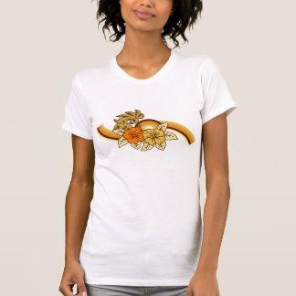 Camiseta de las señoras de la banda del safari que