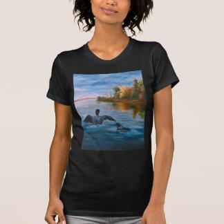 Camiseta de las señoras de la danza del bribón