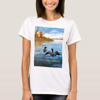 Camiseta de las señoras de la danza II del bribón