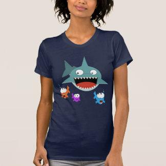 Camiseta de las señoras de la diversión del