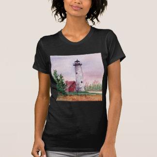 Camiseta de las señoras de la luz del punto de