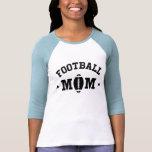 Camiseta de las señoras de la mamá del fútbol, imp