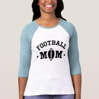 Camiseta de las señoras de la mamá del fútbol imp