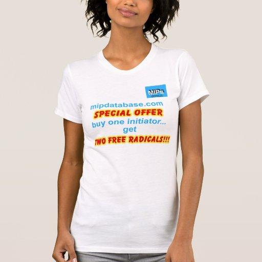 Camiseta de las señoras de la oferta especial
