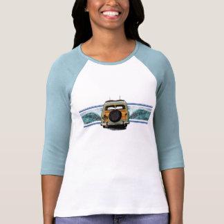 Camiseta de las señoras de la onda de Woody