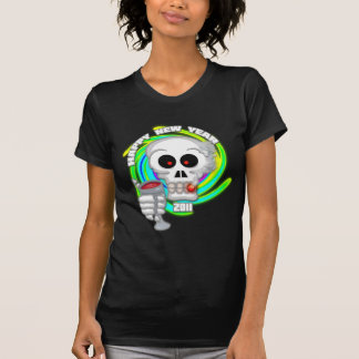 Camiseta de las señoras de la tostada del Año Poleras