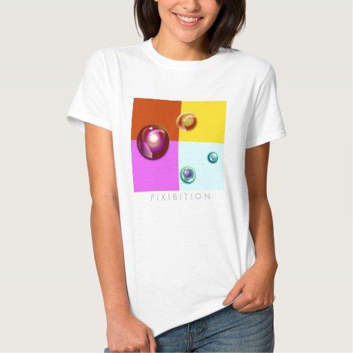 Camiseta de las señoras de las cuentas de cristal camisas
