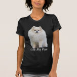 Camiseta de las señoras de Pomeranian