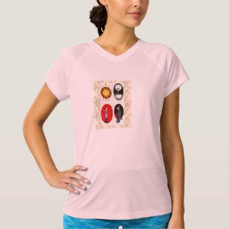 Camiseta de las señoras de Tarot del verano Playera