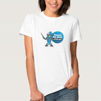 Camiseta de las señoras de Tweetinator Poleras