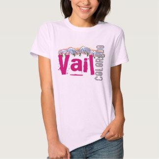 Camiseta de las señoras de Vail Colorado Poleras