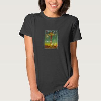 Camiseta de las señoras del chica de la pequeña polera
