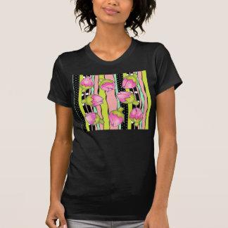 Camiseta de las señoras del color de la alegría de