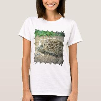 Camiseta de las señoras del cuidado del erizo
