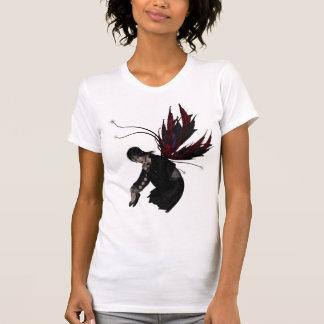 Camiseta de las señoras del Faery de la reflexión