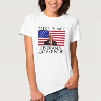 Camiseta de las señoras del gobernador de Indiana Camisas