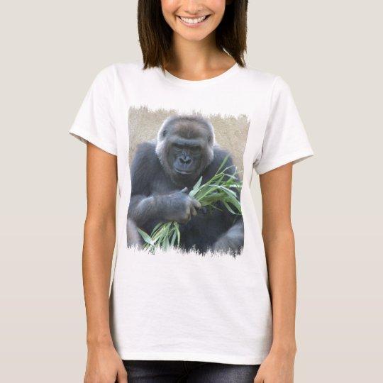 Camiseta de las señoras del gorila del Silverback
