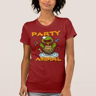 Camiseta de las señoras del juerguista