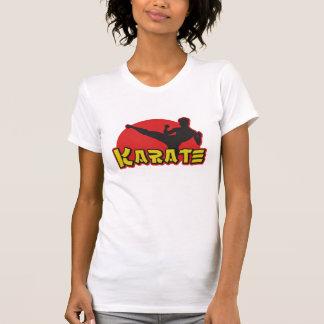 Camiseta de las señoras del karate poleras
