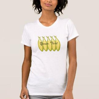 Camiseta de las señoras del maíz dulce