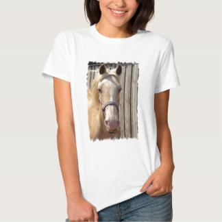 Camiseta de las señoras del potro del Palomino Playera