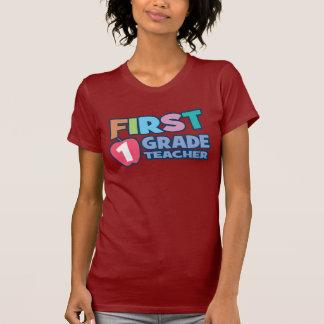Camiseta de las señoras del profesor del primer