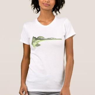 Camiseta de las señoras del punto del delfín