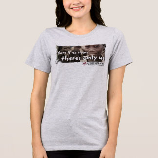 Camiseta de las señoras del tamaño extra grande