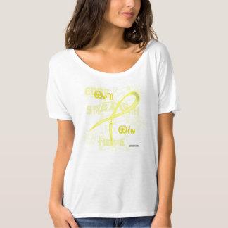 Camiseta de las señoras Flowy de la esperanza del