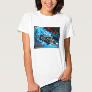 Camiseta de las señoras para competir con lento playera
