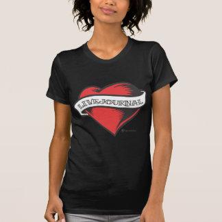 Camiseta de las señoras (tatuaje de LiveJournal)