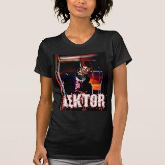 Camiseta de las señoras (vista delantera) polera