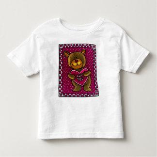 Camiseta de las tarjetas del día de San Valentín Playera