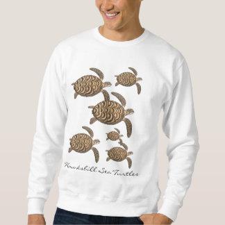 Camiseta de las tortugas de mar de Hawksbill