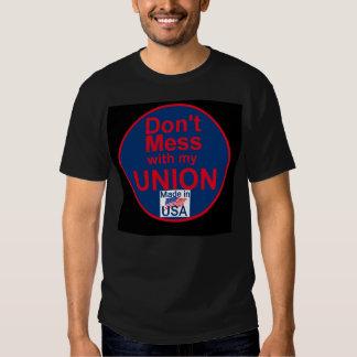 Camiseta de las UNIONES de AFL Poleras