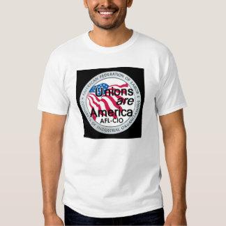 Camiseta de las uniones del Día del Trabajo Playera