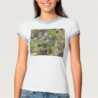 Camiseta de las violetas playera