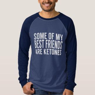 Camiseta de LCHF: Cetonas de los mejores amigos - Polera