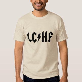Camiseta de LCHF: Logotipo de metales pesados de Polera